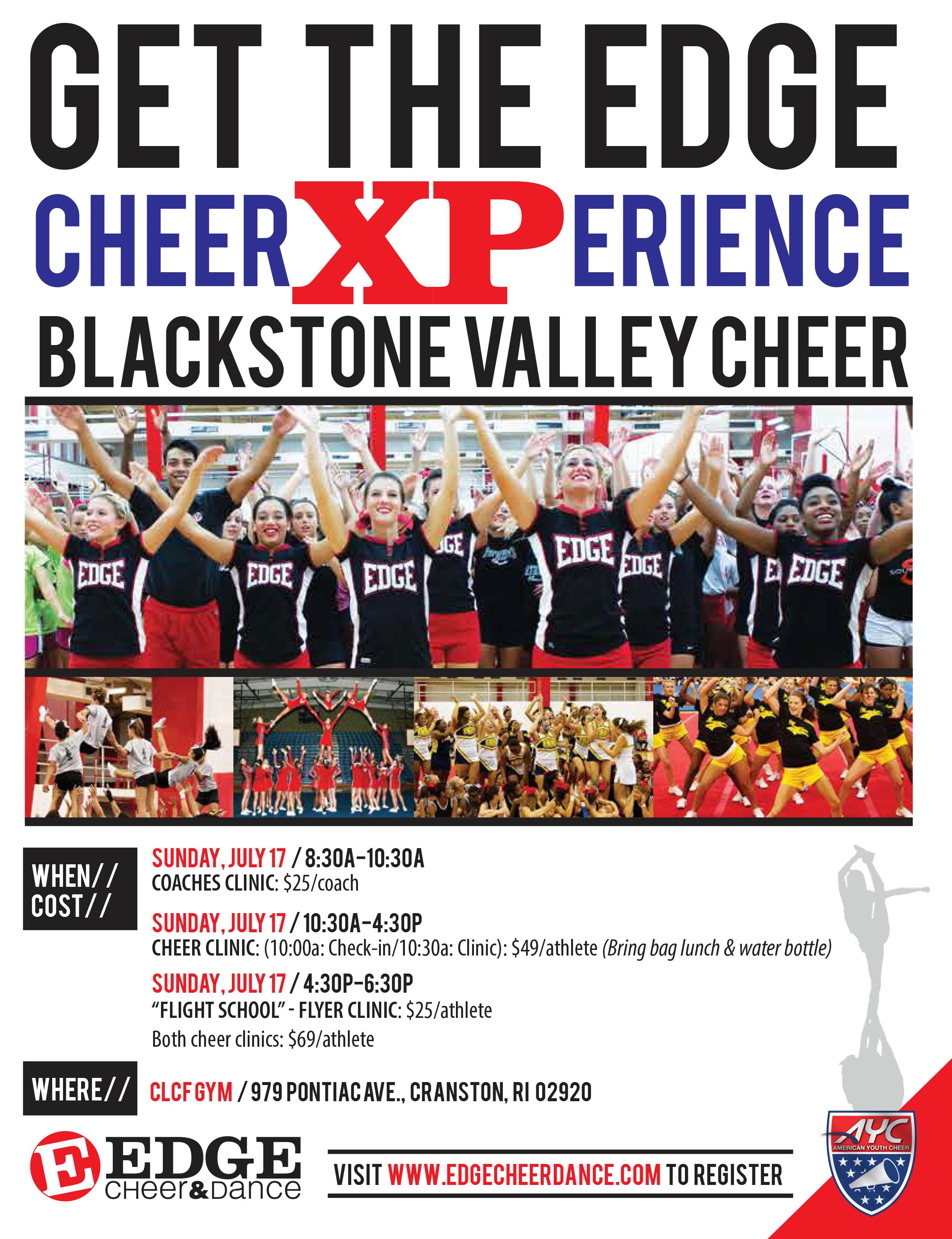 BVYFC Cheer XPerience Clinic • Upper Cape Spartans